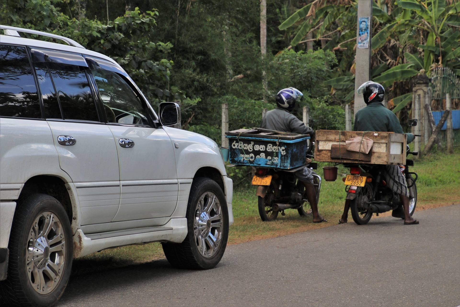 Location de voiture au Sri Lanka